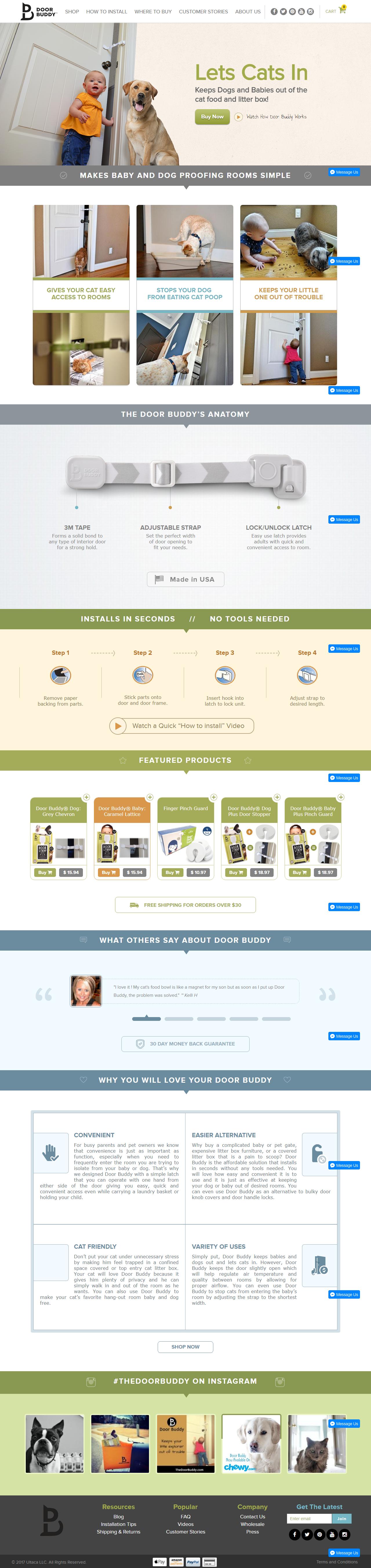 The Door Buddy – Shopify